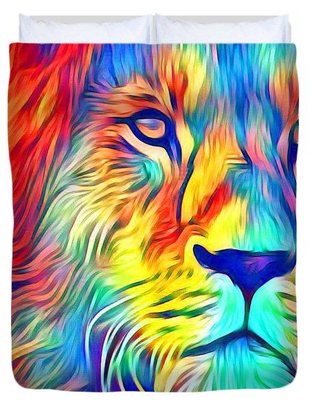 Lion Of Judah Duvet Cover