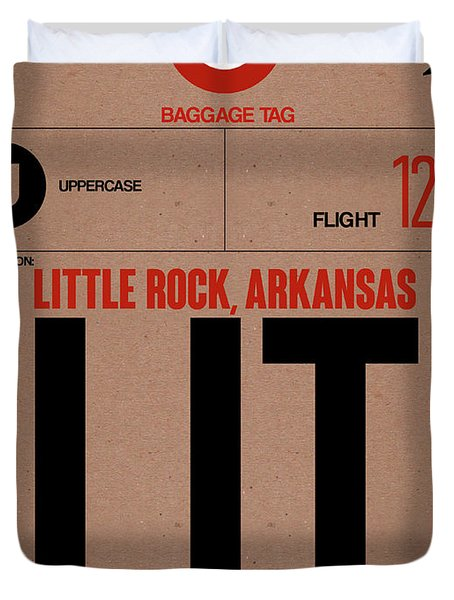 Lit Little Rock Luggage Tag I Duvet Cover