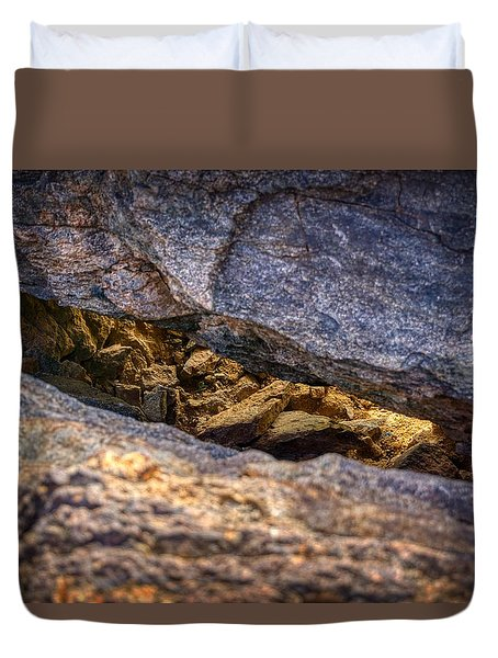 Lit Rock Duvet Cover
