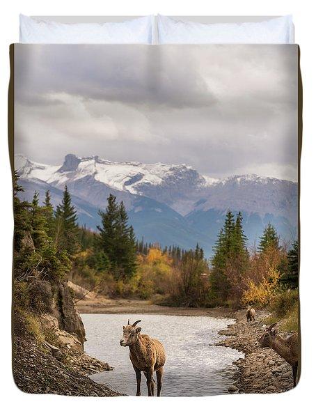 Little Bighorn Duvet Cover