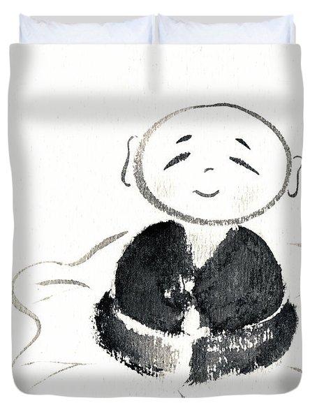 Little Buddha Duvet Cover