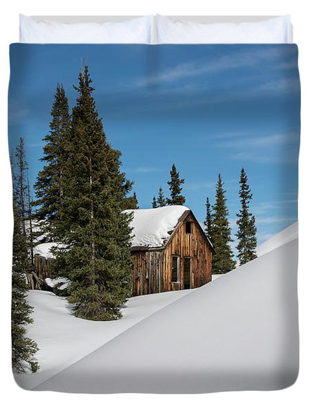 Little Cabin Duvet Cover