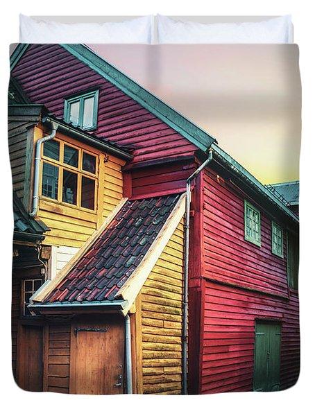 Little Dash Of Bergen Duvet Cover