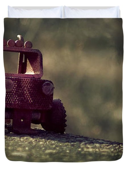 Little Engine That Could Duvet Cover