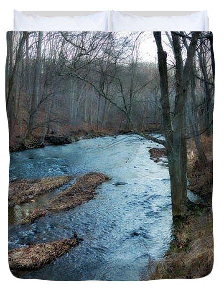 Little Gunpowder Falls And Mill Duvet Cover