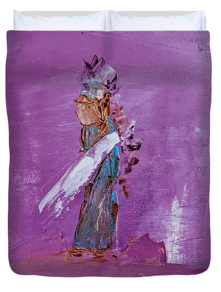 Little Indian Angel Duvet Cover
