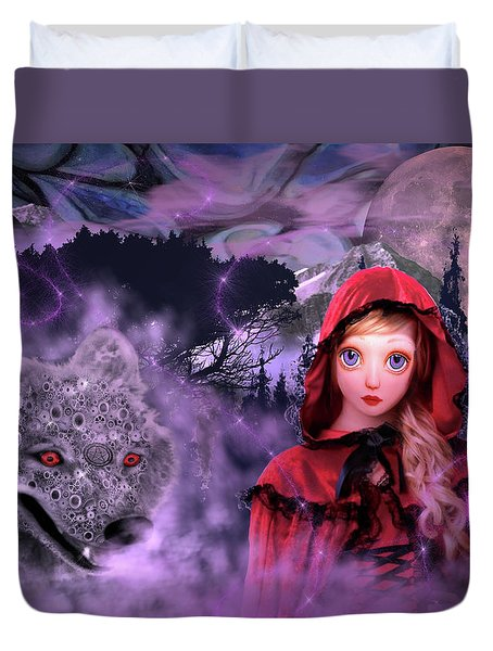 Little Red Duvet Cover