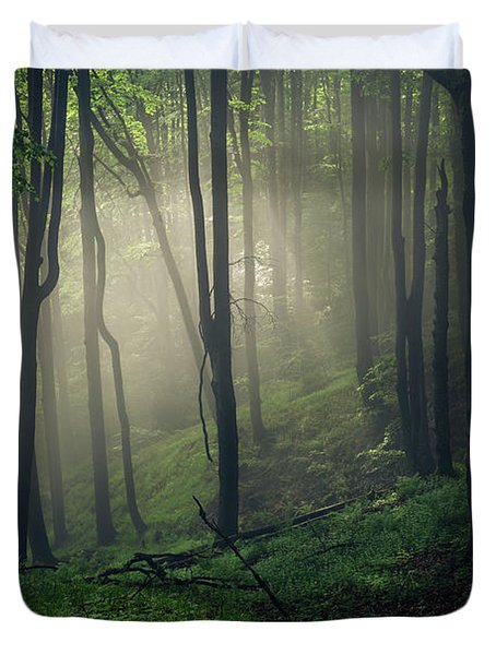 Living Forest Duvet Cover