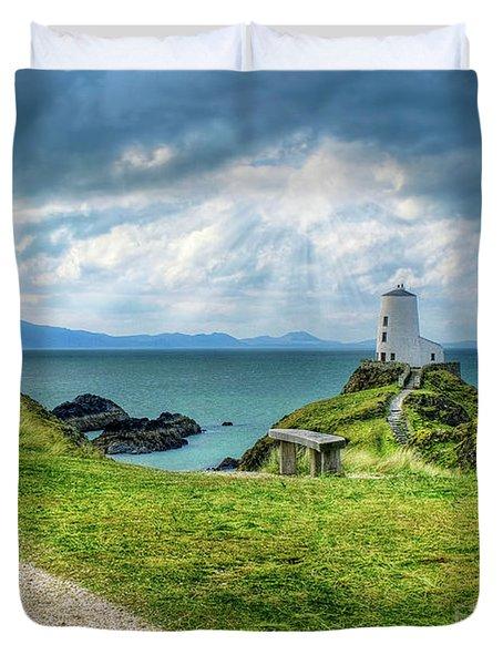 Llanddwyn Island Duvet Cover