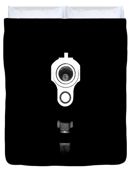 Locked And Loaded .png Duvet Cover