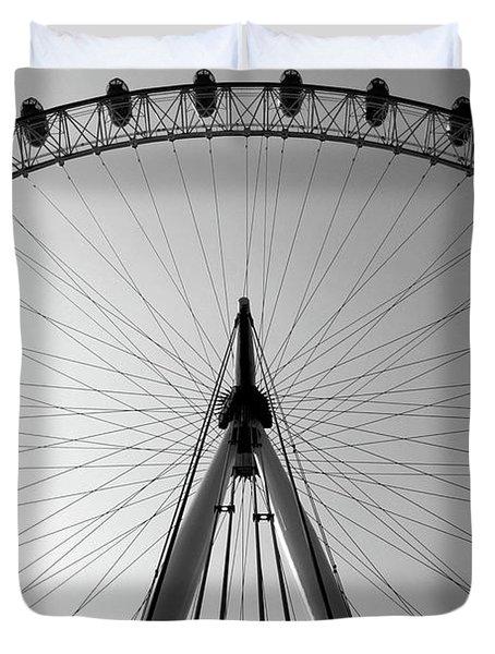 London_eye_i Duvet Cover