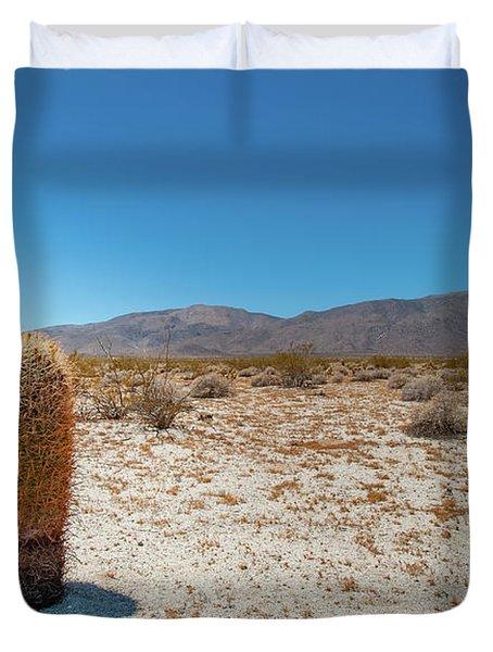Lone Barrel Cactus Duvet Cover