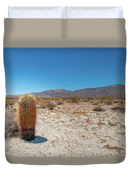 Lone Barrel Cactus Duvet Cover