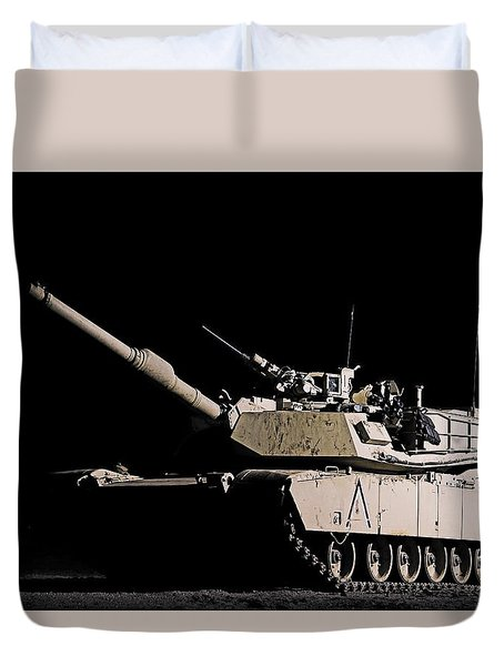 Lonely Nights Duvet Cover