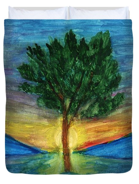 Lonely Pine Duvet Cover