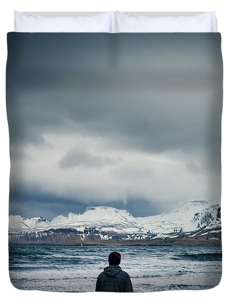 Lonely Seas Duvet Cover