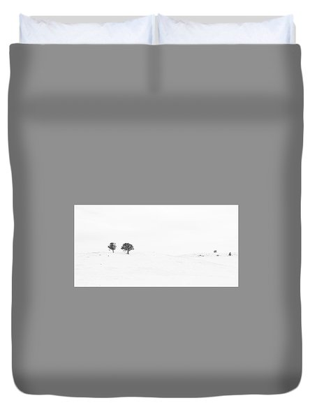 Lonely Together Duvet Cover