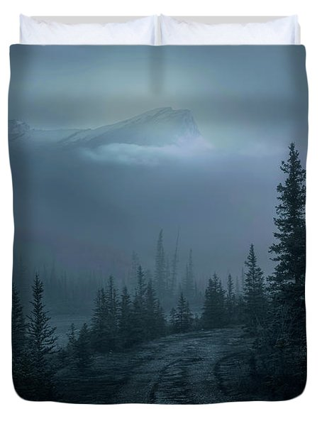 Lonely Trails Duvet Cover