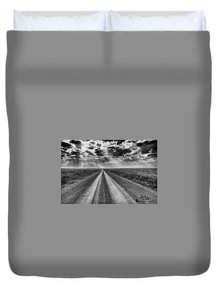 Long And Lonely Duvet Cover