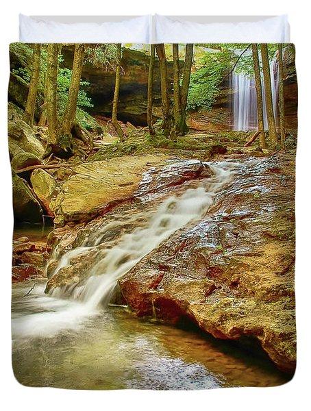 Long Falls Duvet Cover
