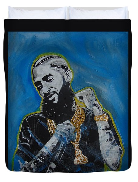 Long Live Nipsey Duvet Cover