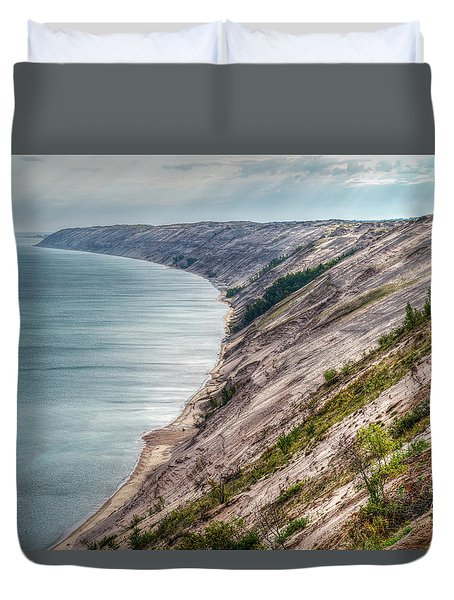 Long Slide Overlook Duvet Cover