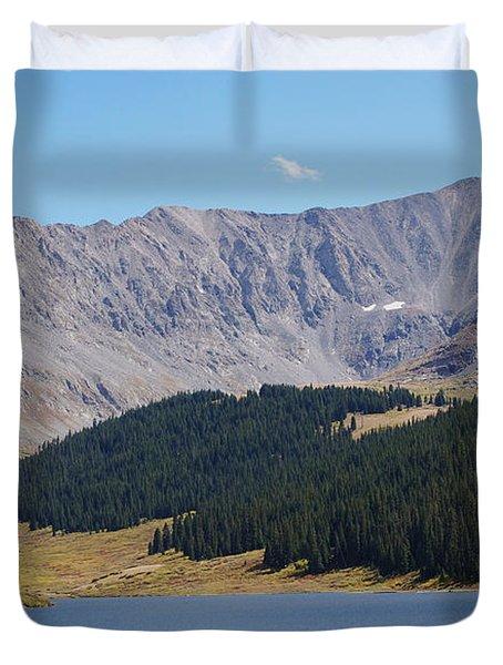 Longs Peak Colorado Duvet Cover
