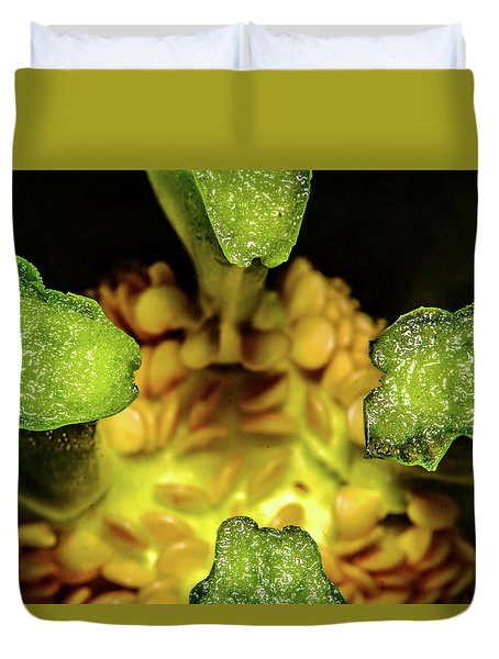 Looking Into A Pepper Duvet Cover
