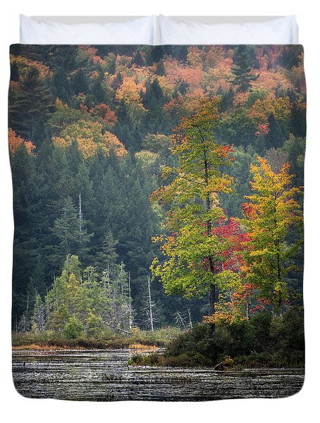 Loon Lake Duvet Cover