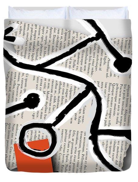 Lorem Ipsum 1 Duvet Cover