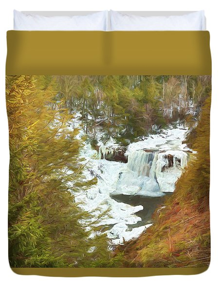 Love This Life Duvet Cover