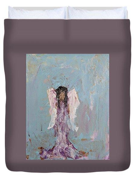 Lovely Angel  Duvet Cover