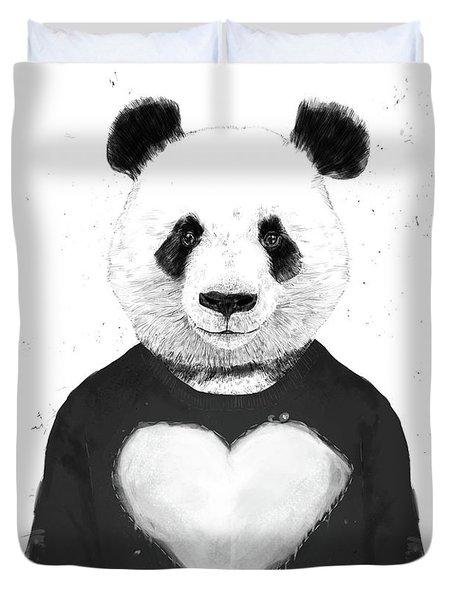 Lovely Panda  Duvet Cover