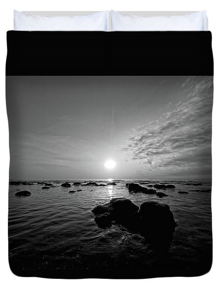 Low Tide 2 Duvet Cover