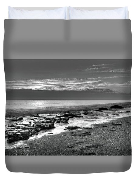 Low Tide 3 Duvet Cover