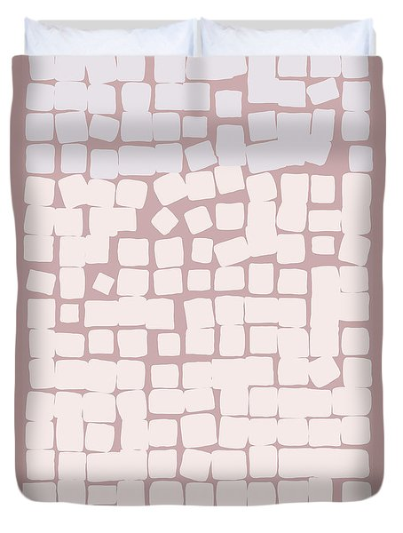 Duvet Cover featuring the digital art Lowland by Attila Meszlenyi