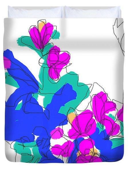 Ls, #2 Duvet Cover