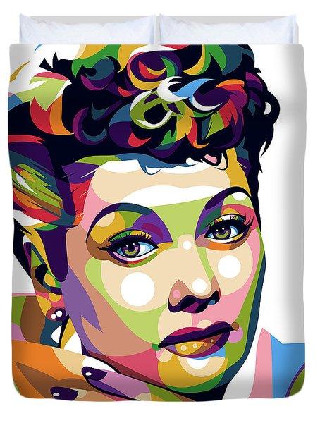 Lucille Ball Duvet Cover