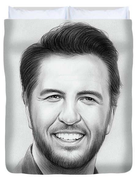 Luke Bryan Duvet Cover