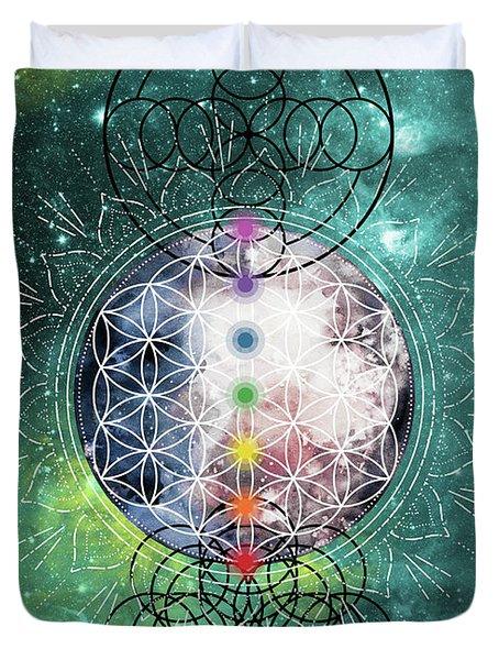 Lunar Mysteries Duvet Cover