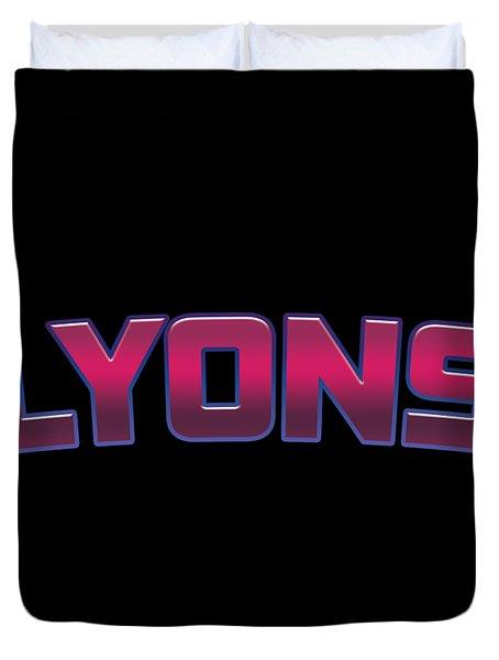 Lyons #lyons Duvet Cover