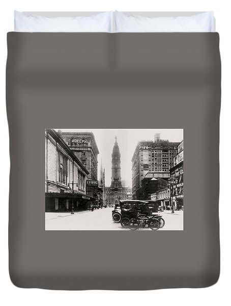 Lyric Theatre Duvet Cover