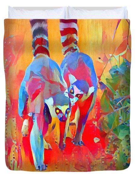 Madagascar Dreaming Duvet Cover