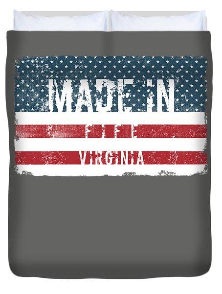 Made In Fife, Virginia Duvet Cover