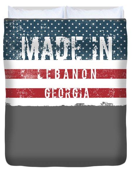 Made In Lebanon, Georgia Duvet Cover