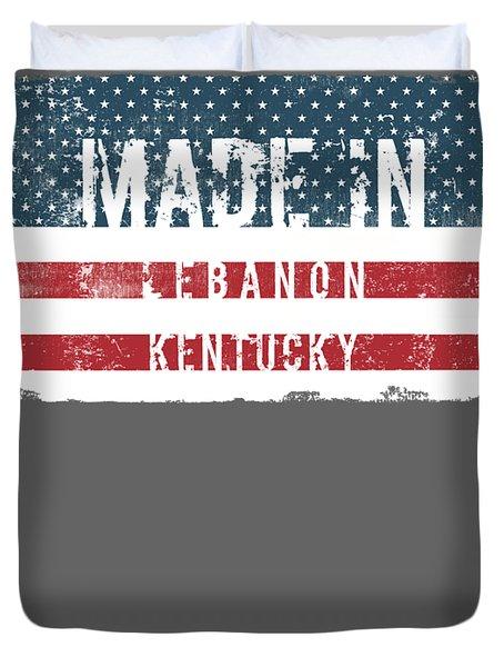 Made In Lebanon, Kentucky Duvet Cover