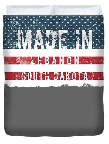 Made In Lebanon, South Dakota Duvet Cover