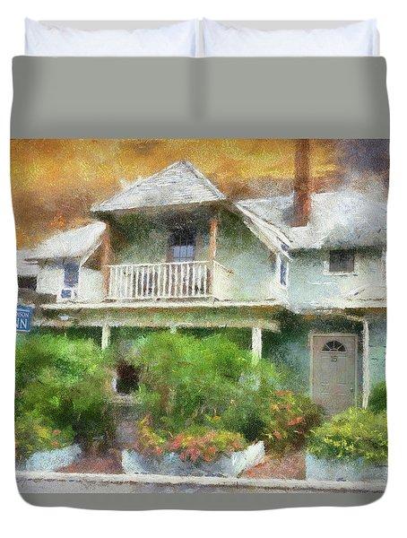 Madison Inn Marthas Vineyard Cape Cod Massachusetts Pa Duvet Cover