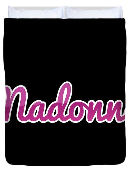 Madonna #madonna Duvet Cover
