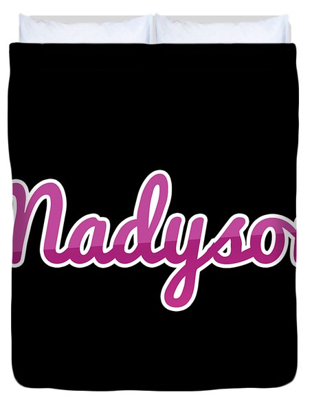 Madyson #madyson Duvet Cover